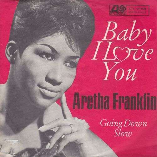 Coverafbeelding Baby I Love You - Aretha Franklin