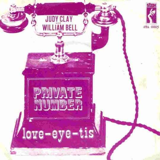 Coverafbeelding Private Number - Judy Clay And William Bell