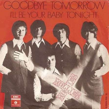 Coverafbeelding Goodbye Tomorrow - Hollies