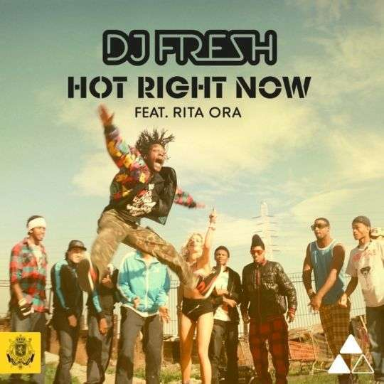 Coverafbeelding Hot Right Now - Dj Fresh Feat. Rita Ora