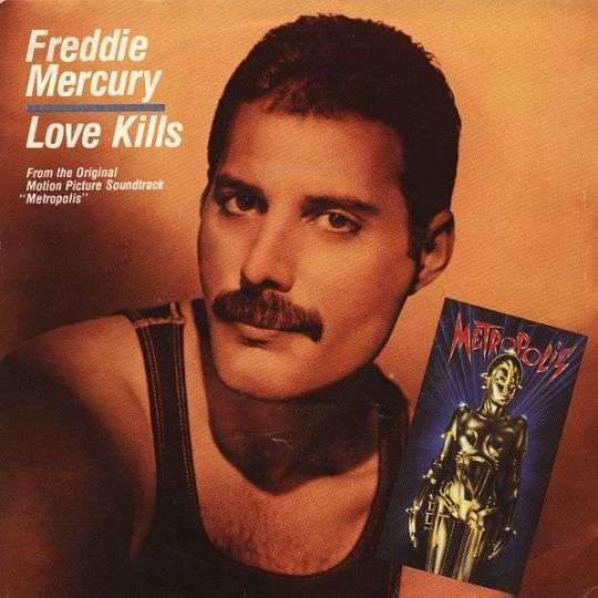 Coverafbeelding Love Kills - Freddie Mercury