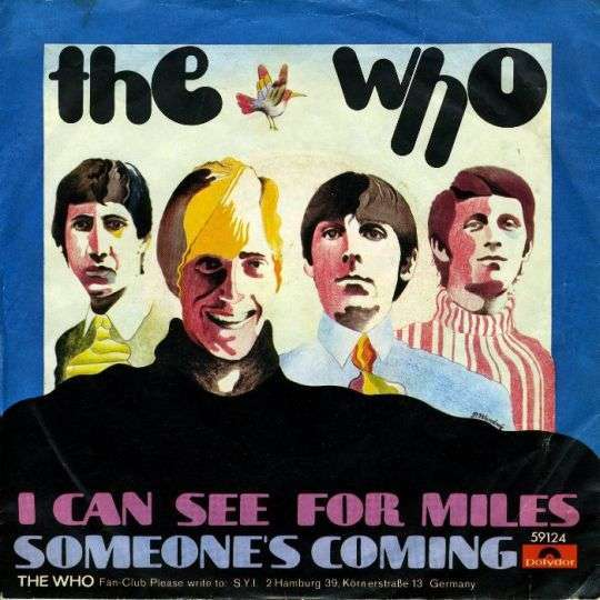 Coverafbeelding I Can See For Miles - The Who
