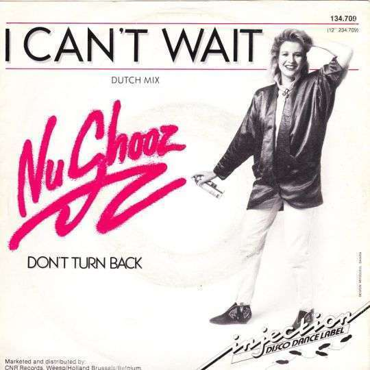 Coverafbeelding Nu Shooz - I Can't Wait - Dutch Mix