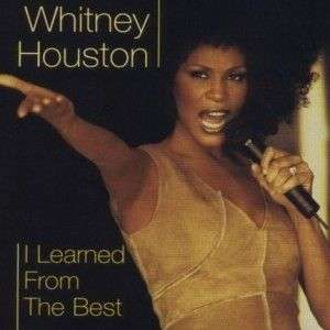 Coverafbeelding I Learned From The Best - Whitney Houston