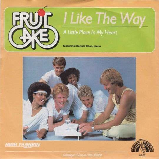 Coverafbeelding Fruitcake featuring: Bennie Baan, piano - I Like The Way