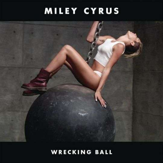 Coverafbeelding Wrecking Ball - Miley Cyrus