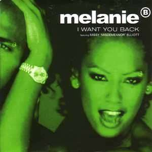 "Coverafbeelding I Want You Back - Melanie B Featuring Missy ""misdemeanor"" Elliott"