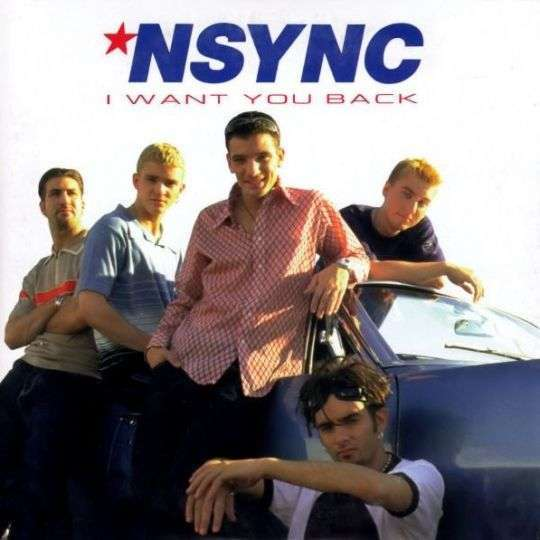 Coverafbeelding 'N Sync - I Want You Back