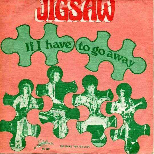 Coverafbeelding Jigsaw ((GBR)) - If I Have To Go Away