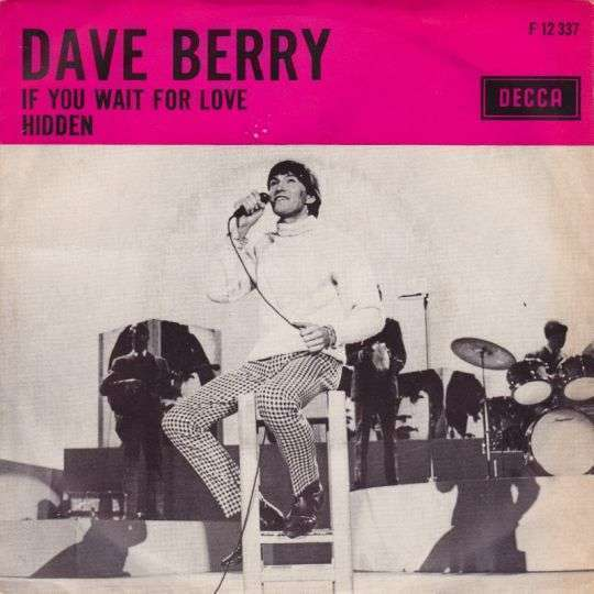 Coverafbeelding If You Wait For Love - Dave Berry