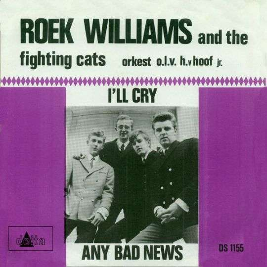 Coverafbeelding I'll Cry - Roek Williams And The Fighting Cats & Orkest O.l.v. H. V Hoof Jr.