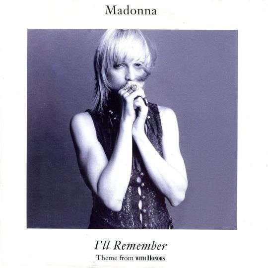Coverafbeelding I'll Remember - Theme From With Honors - Madonna