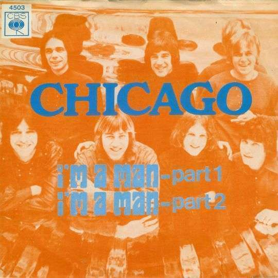 Coverafbeelding I'm A Man - Chicago