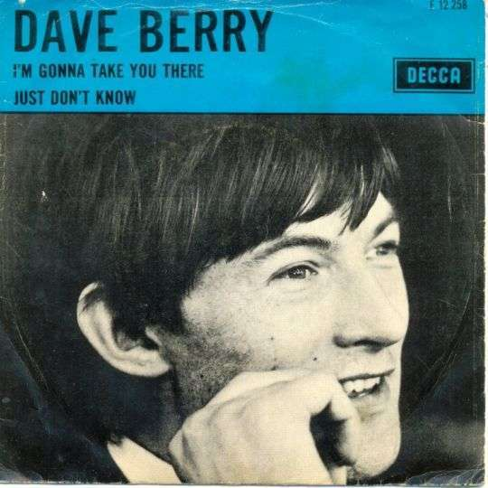 Coverafbeelding I'm Gonna Take You There - Dave Berry