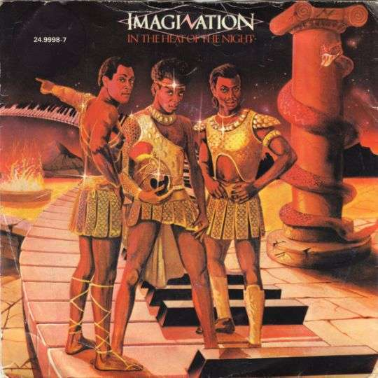 Coverafbeelding In The Heat Of The Night - Imagination