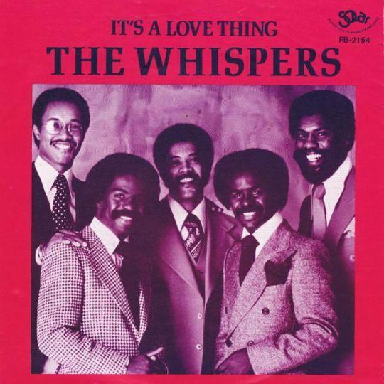 Coverafbeelding The Whispers - It's A Love Thing