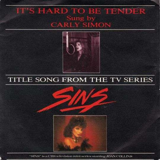 Coverafbeelding It's Hard To Be Tender - Carly Simon