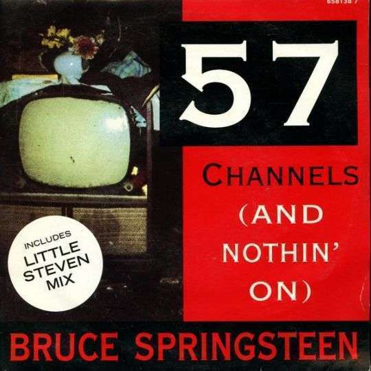 Coverafbeelding 57 Channels (And Nothin' On) - Bruce Springsteen