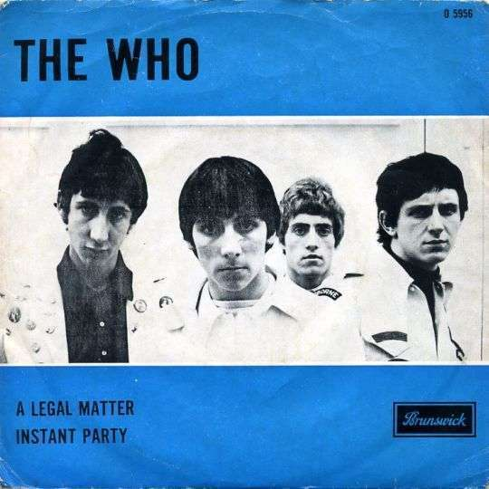 Coverafbeelding A Legal Matter - The Who