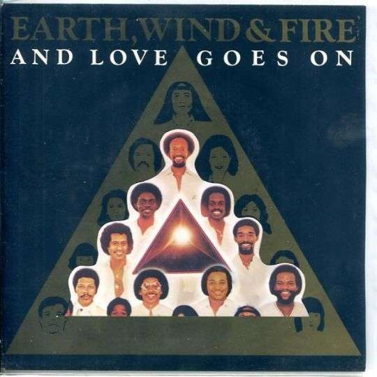 Coverafbeelding Earth, Wind & Fire - And Love Goes On