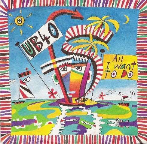 Coverafbeelding All I Want To Do - Ub40