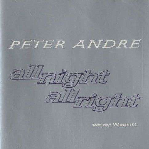 Coverafbeelding All Night All Right - Peter Andre Featuring Warren G