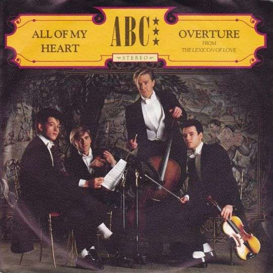 Coverafbeelding ABC - All Of My Heart
