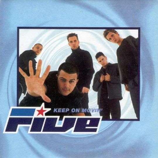 Coverafbeelding Keep On Movin' - Five