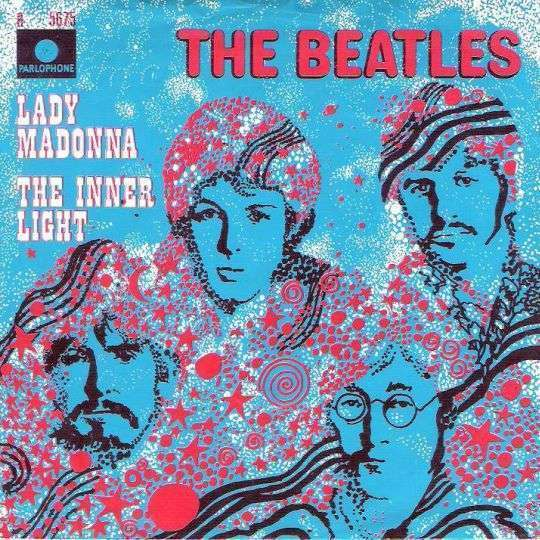 Coverafbeelding Lady Madonna - The Beatles