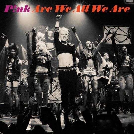 Coverafbeelding Are We All We Are - P!nk