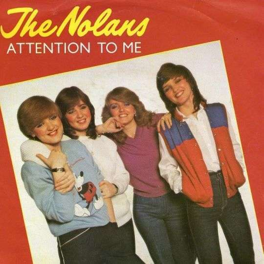 Coverafbeelding Attention To Me - The Nolans