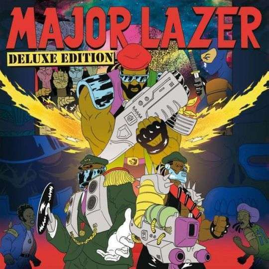 Coverafbeelding Come On To Me - Major Lazer Feat. Sean Paul