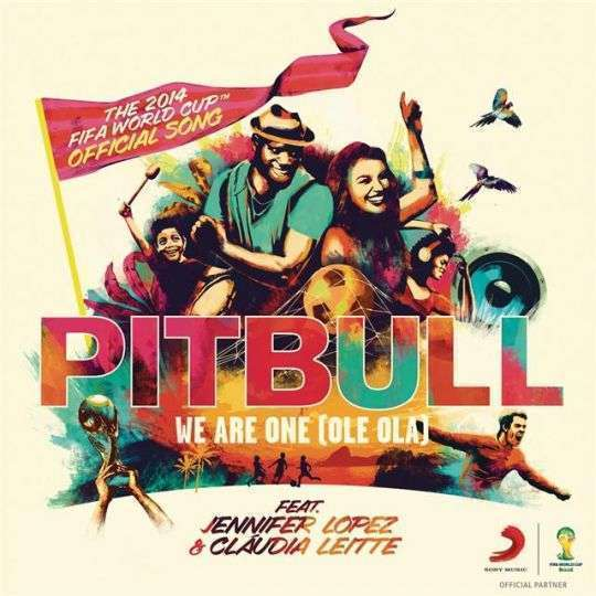 Coverafbeelding We Are One (Ole Ola) - Pitbull Feat. Jennifer Lopez & Cláudia Leitte