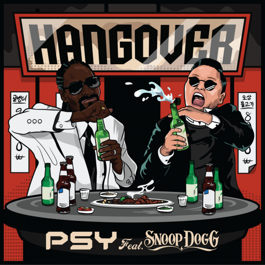 Coverafbeelding Hangover - Psy Feat. Snoop Dogg