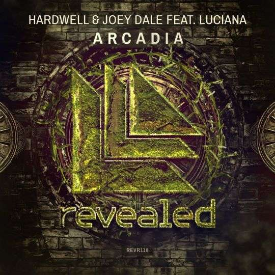 Coverafbeelding Arcadia - Hardwell & Joey Dale Feat. Luciana