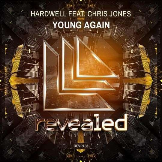 Coverafbeelding Hardwell feat. Chris Jones - Young again