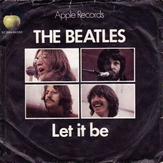 Coverafbeelding Let It Be - The Beatles