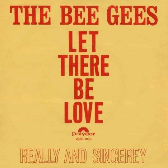 Coverafbeelding Let There Be Love - The Bee Gees