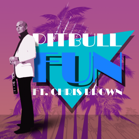 Coverafbeelding Fun - Pitbull Ft. Chris Brown