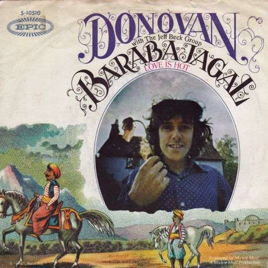 Coverafbeelding Barabajagal - Love Is Hot - Donovan With The Jeff Beck Group