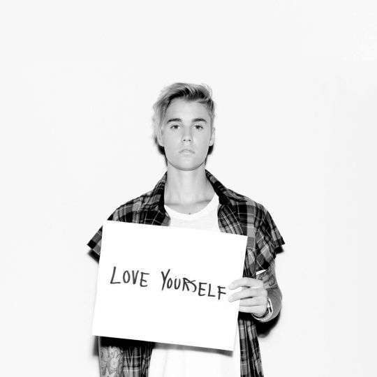 Coverafbeelding Love Yourself - Justin Bieber