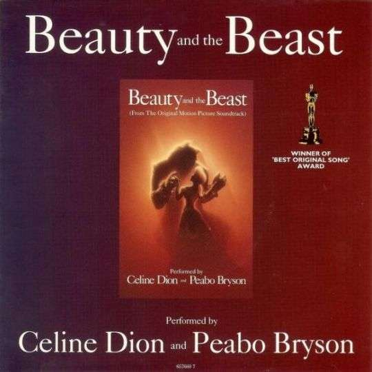 Coverafbeelding Beauty And The Beast - Celine Dion And Peabo Bryson