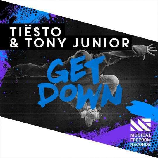 Coverafbeelding Get Down - Tiësto & Tony Junior