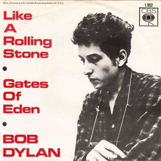 Coverafbeelding Like A Rolling Stone - Bob Dylan