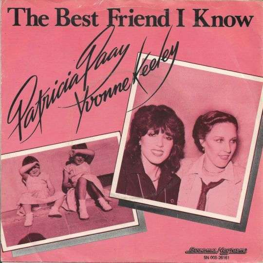 Coverafbeelding The Best Friend I Know - Patricia Paay & Yvonne Keeley