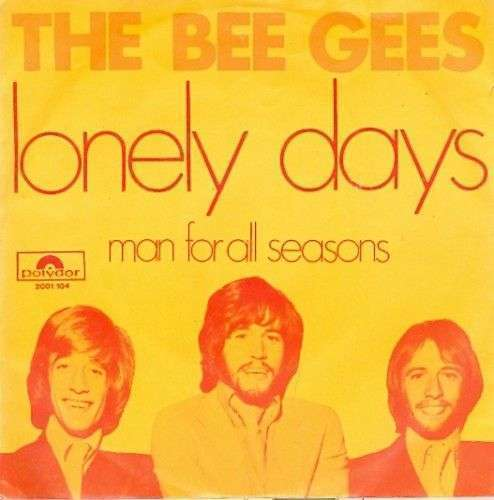 Coverafbeelding Lonely Days - The Bee Gees