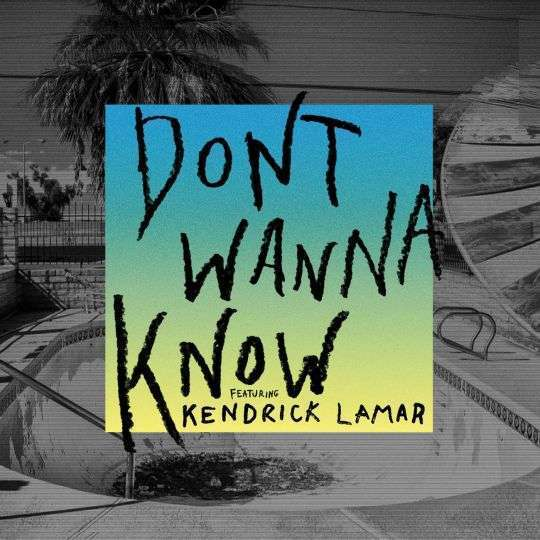 Coverafbeelding Dont Wanna Know - Maroon 5 Featuring Kendrick Lamar