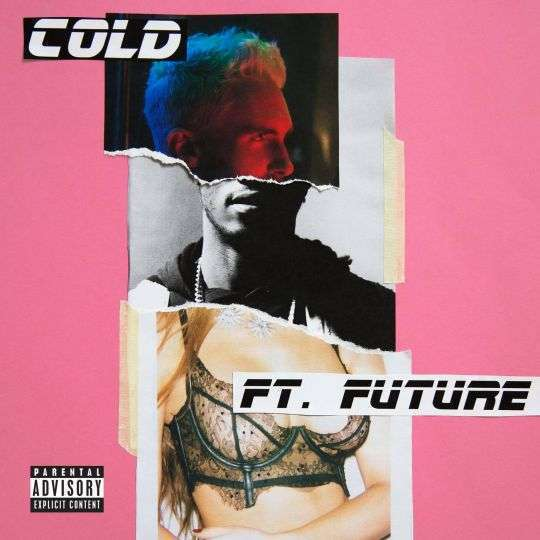 Coverafbeelding Cold - Maroon 5 Ft. Future