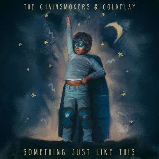 Coverafbeelding Something Just Like This - The Chainsmokers & Coldplay