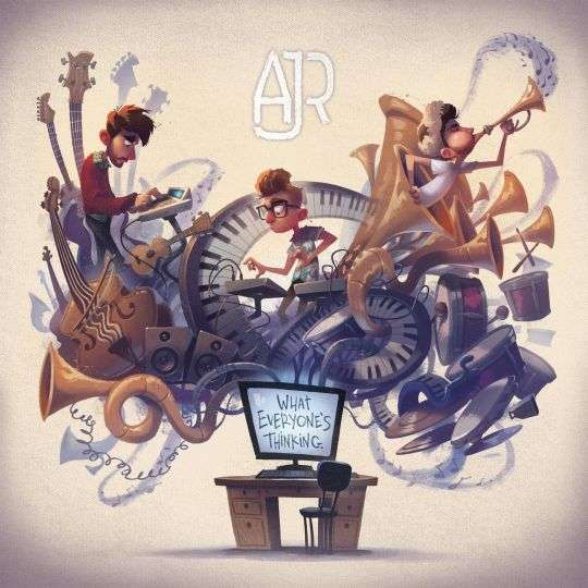 Coverafbeelding AJR - Weak